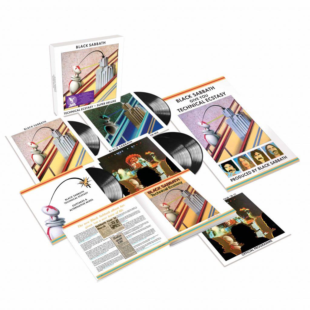 "Black Sabbath: Reedycja albumu ""Technical Ecstasy"" w wersji Deluxe Edition"